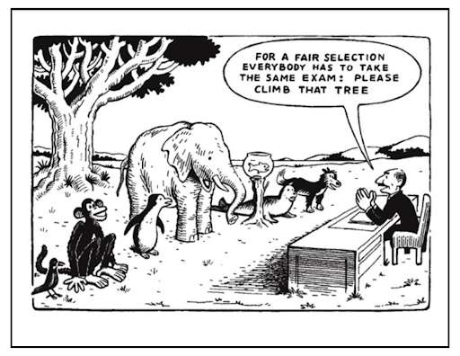 Giving fair opportunities for dyslexics in classroom settings isn't optional.